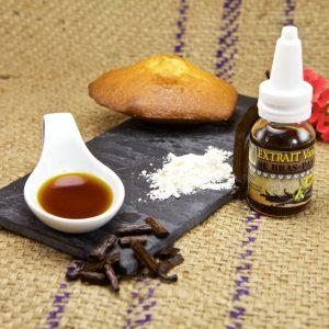 Produits dérivés de vanille